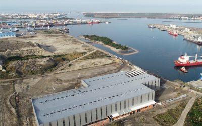 Porto de Aveiro constrói zona de apoio logístico na zali